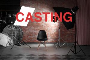 Casting für TV Show. Casting für Fernsehen.